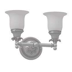 Damask Two-Light Sconce